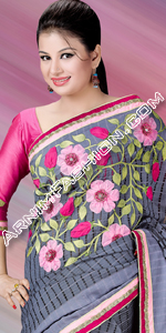Eid Latest Silk Sari Collection