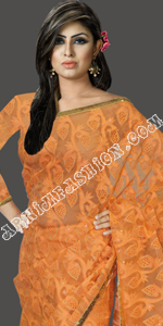 Eid Latest Moslin Saree Collection Bangladesh