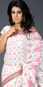 Cotton Saree with Karchupi
