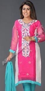 Jamdani & Moslin Dress