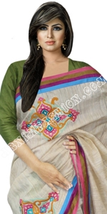 Andy Muslin Saree