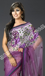 Shade Net Saree